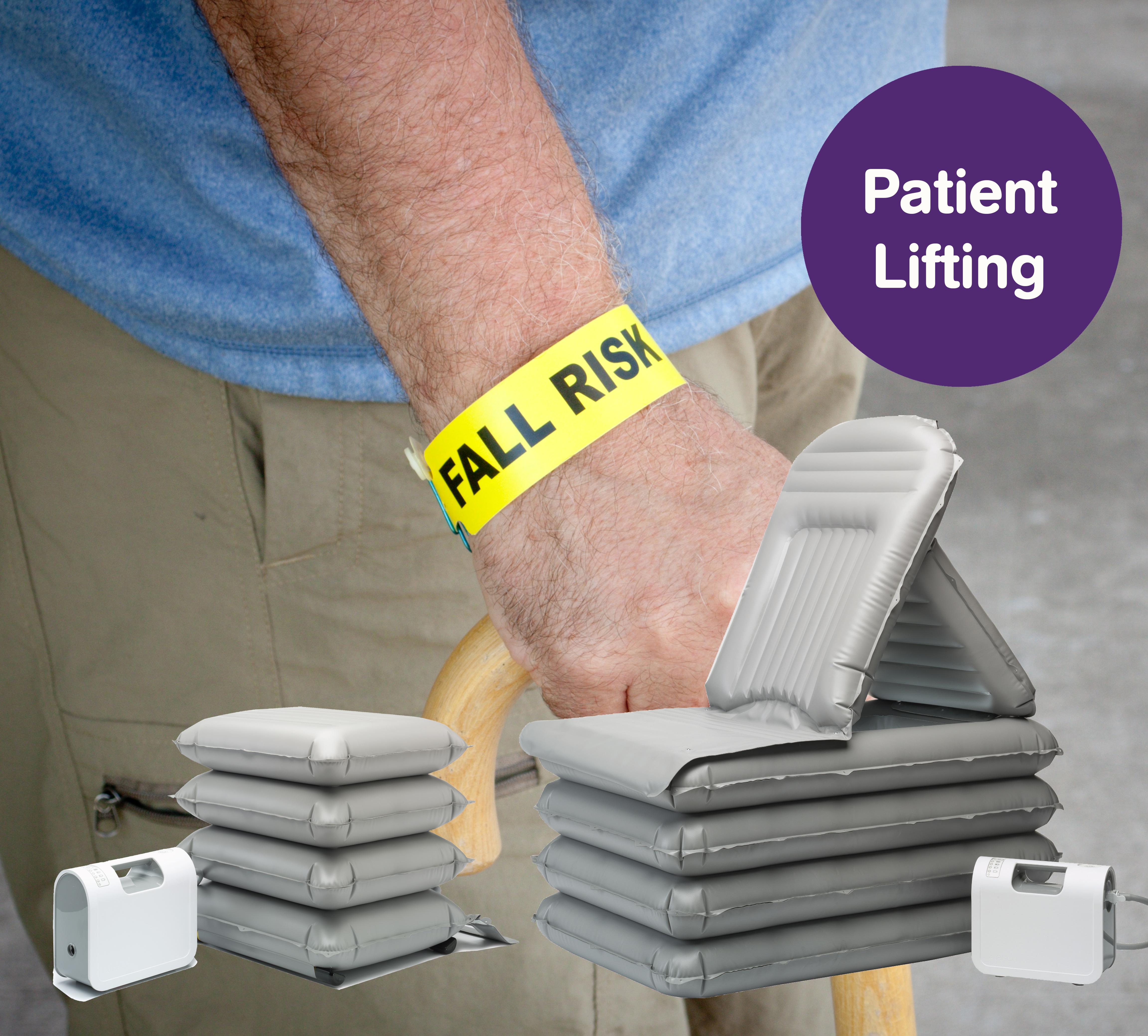Aufrichten von Patienten
