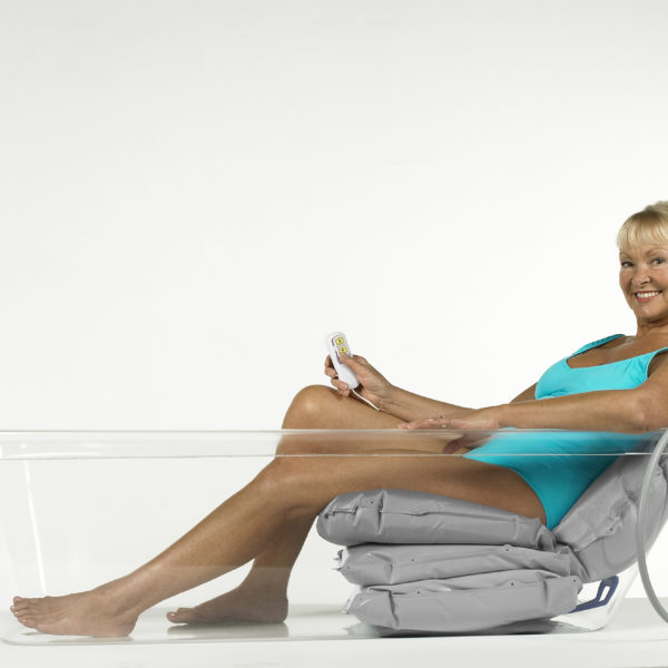 bathing cushion grey