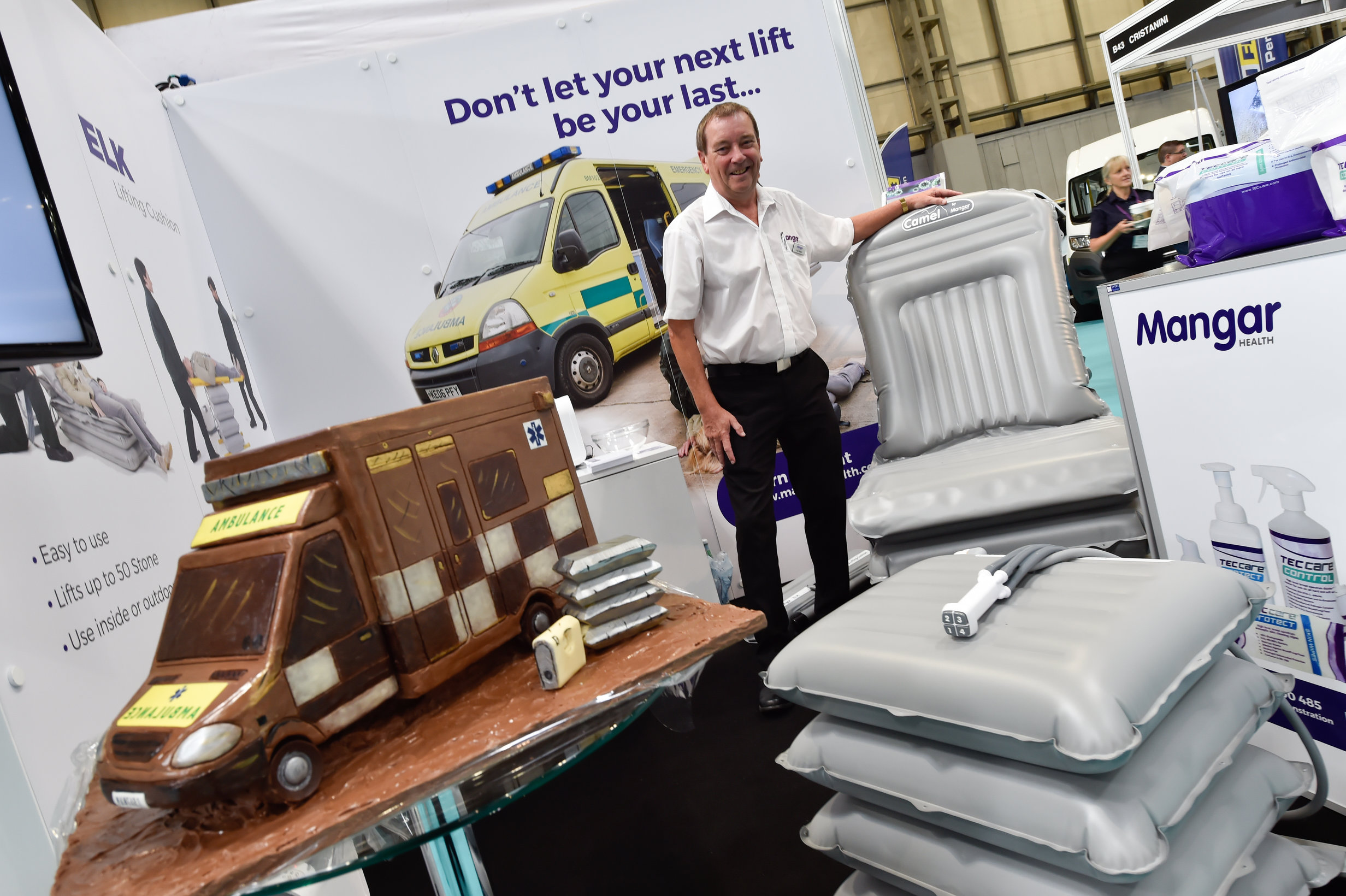 Successful Launch of Mangar Health Cleaning Products At Emergency Services Show