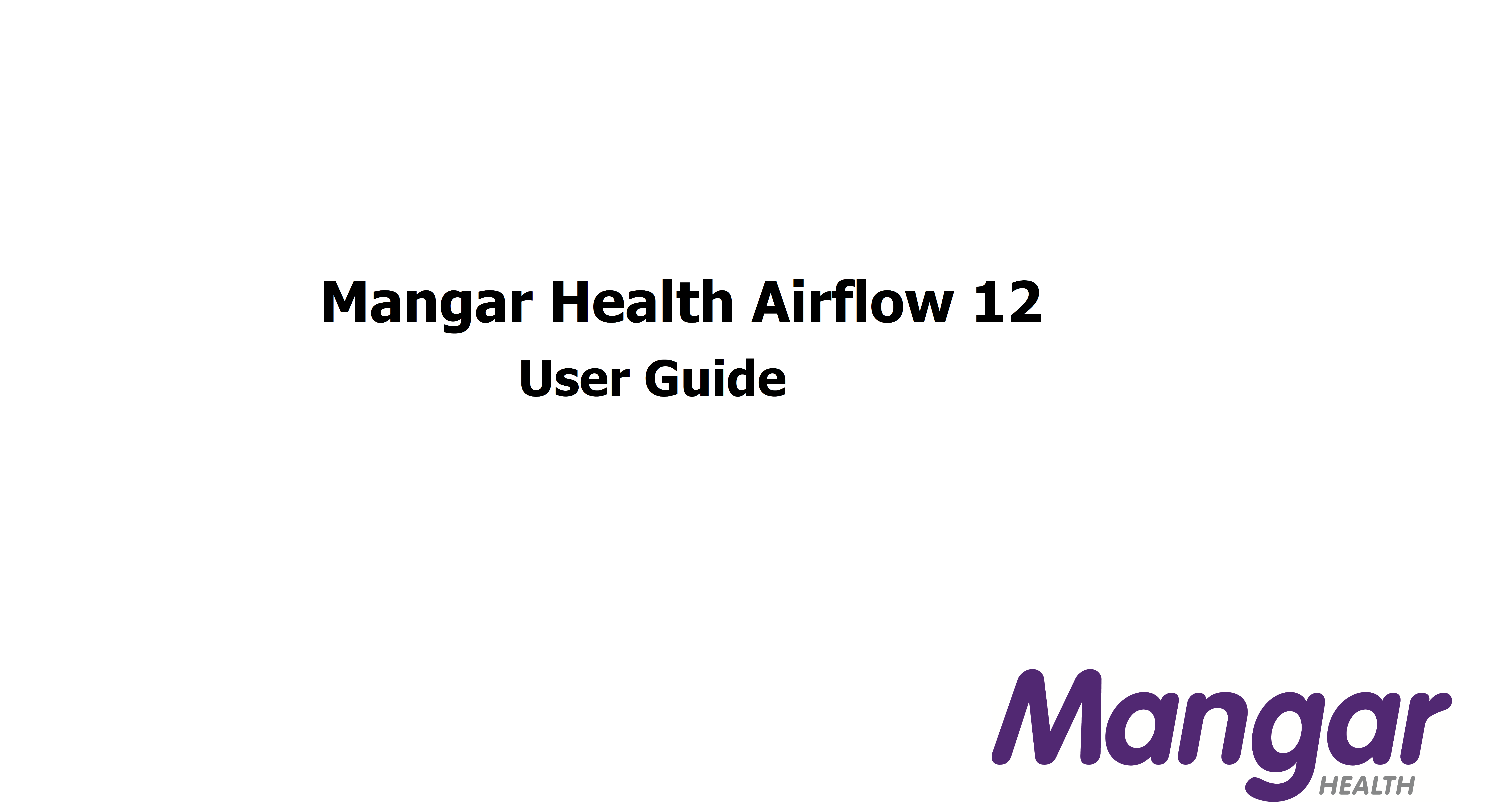 Airflow 12 user guide