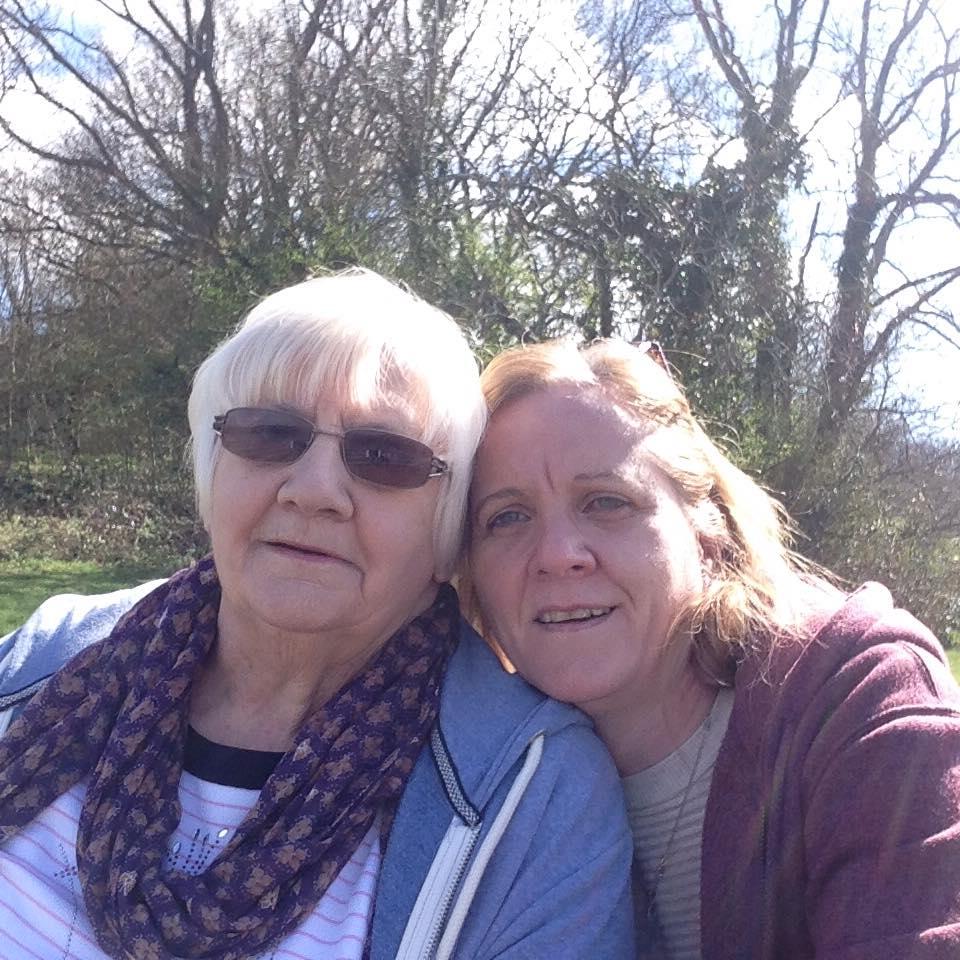 Sharron and Linda Price