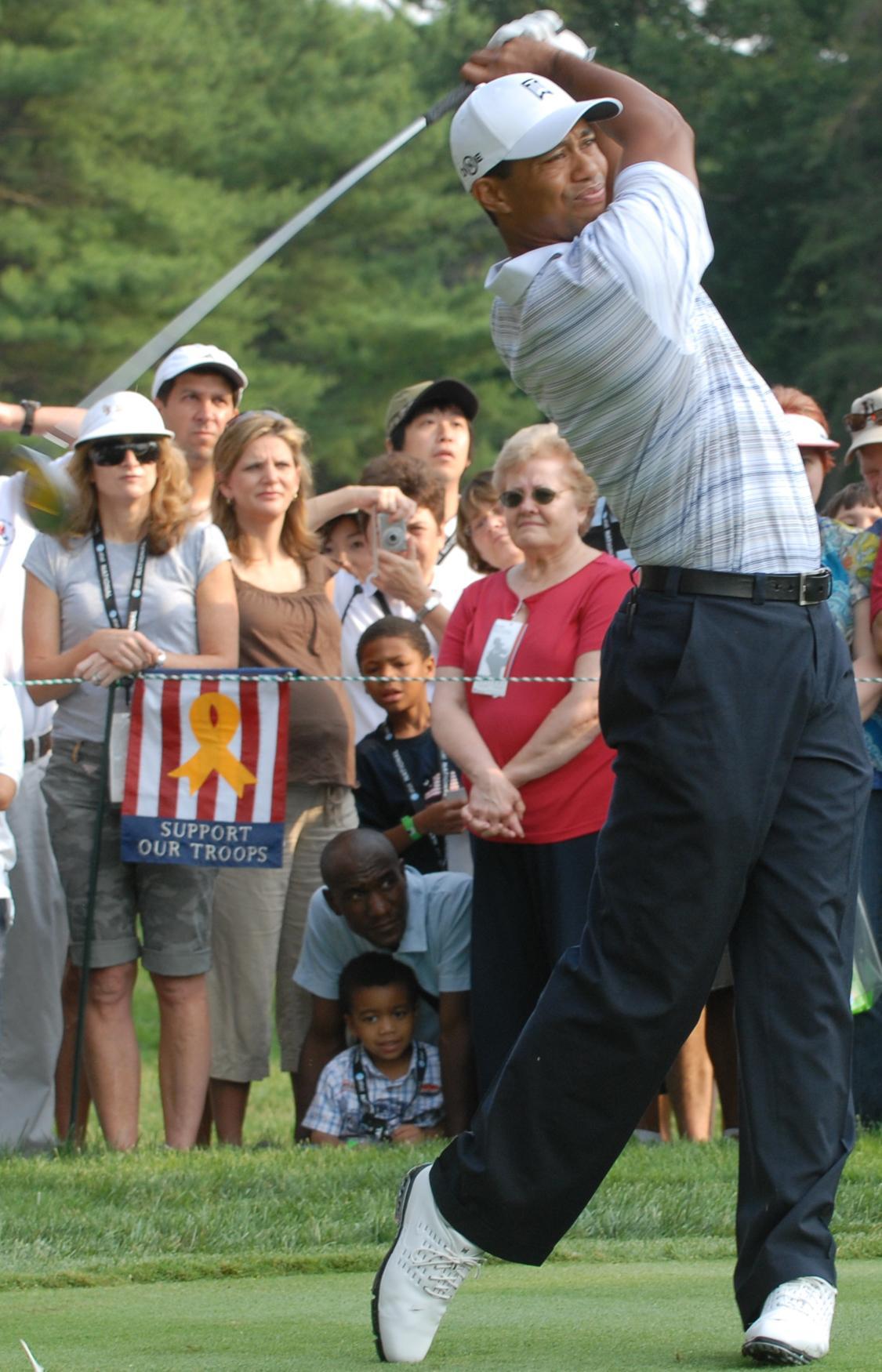 Tiger Woods has arthritis
