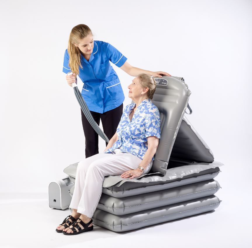Mangar Hits Record Sales Lifted By Camel Inflatable Cushion