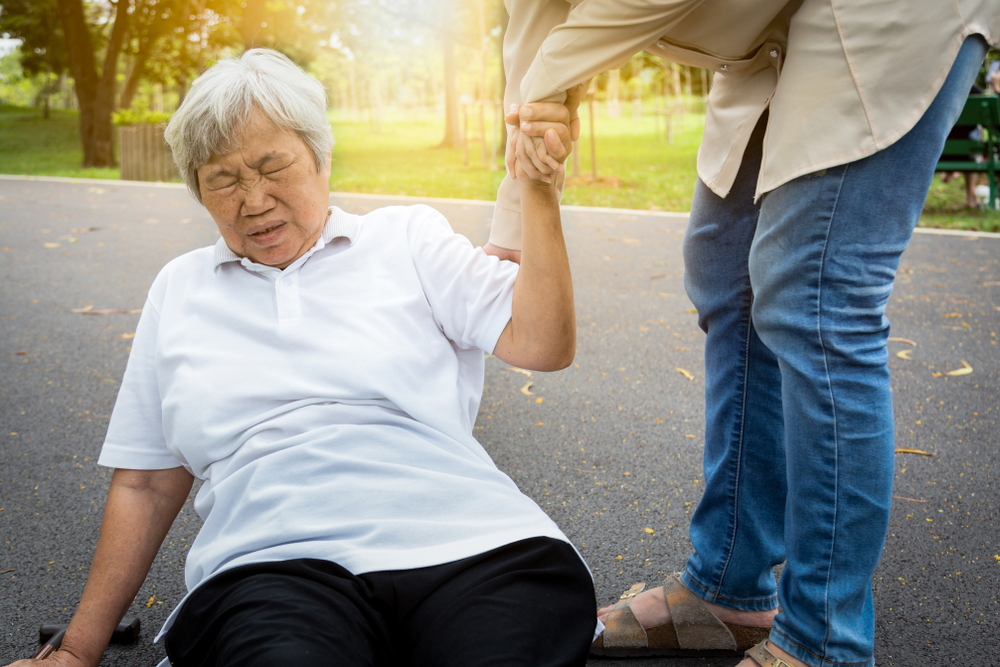 The common causes of falls