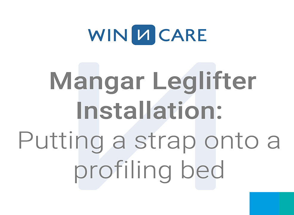 Mangar Leglifter Installation: Putting a strap onto a profiling bed