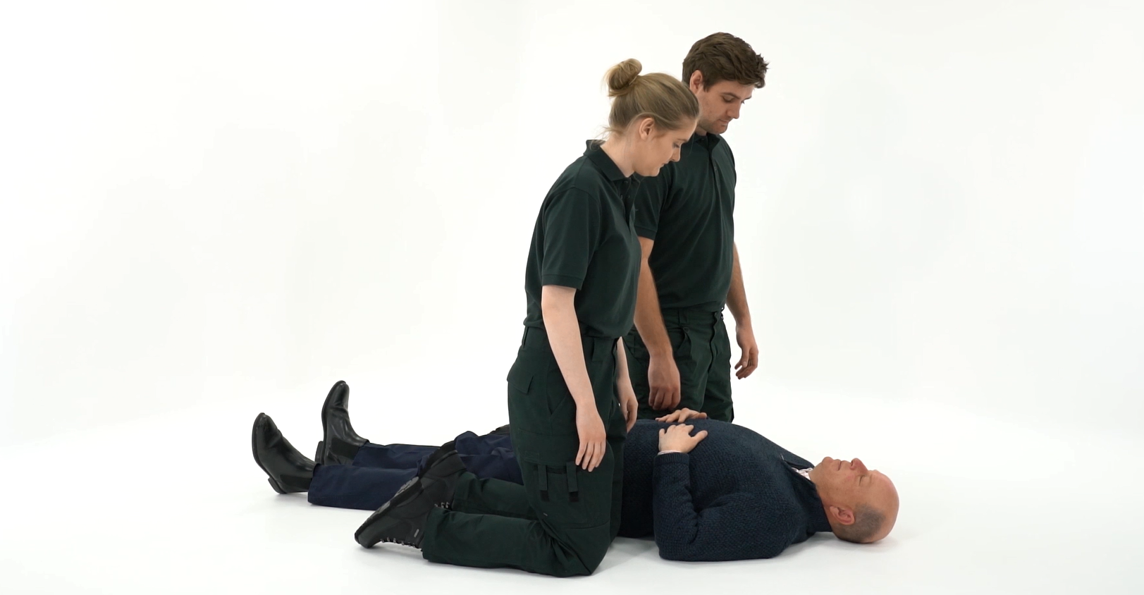 Lifting A Patient With The Mangar Elk