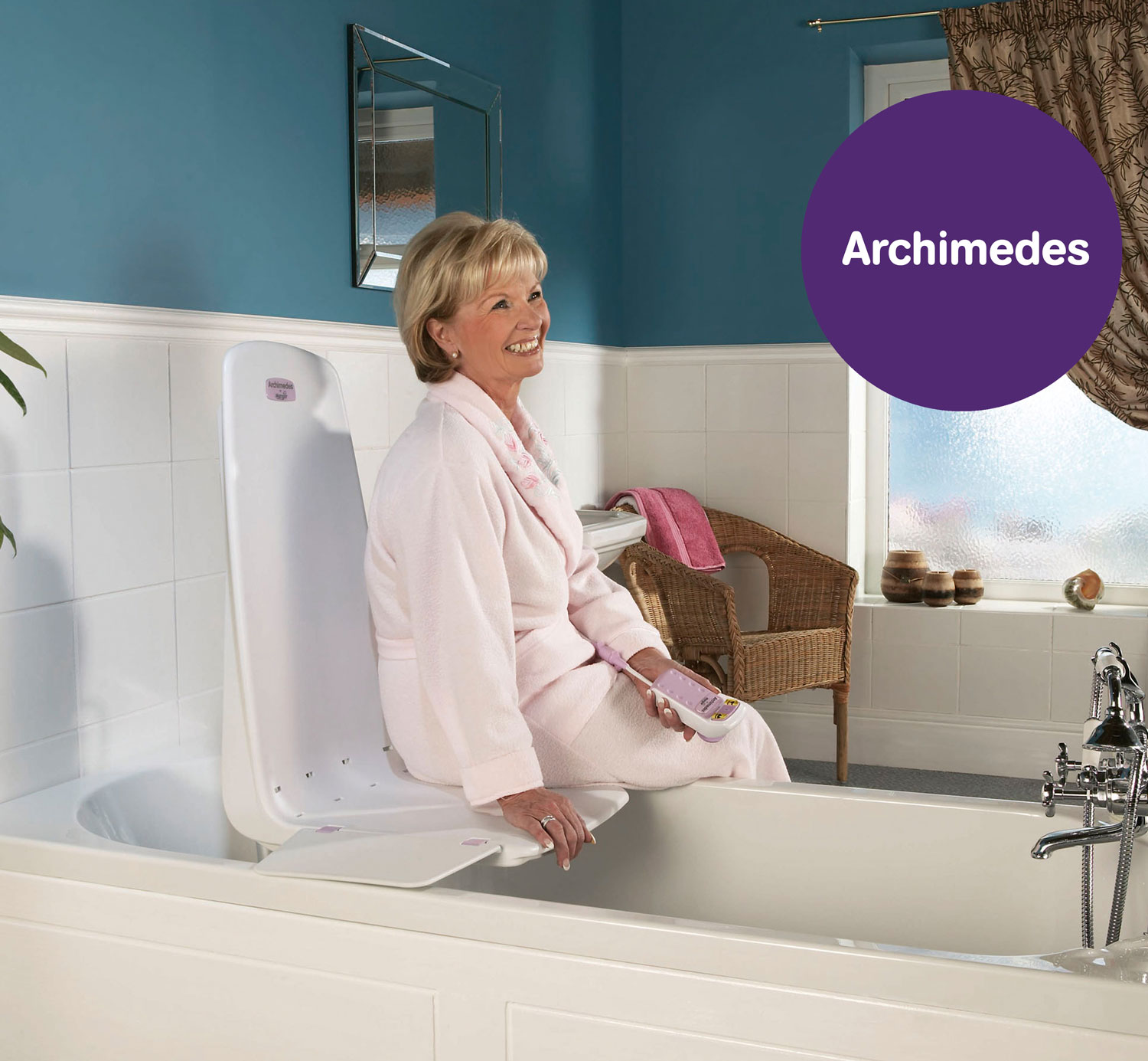 Archimedes Bath Lift | Bathe Safely With Support | Mangar Health