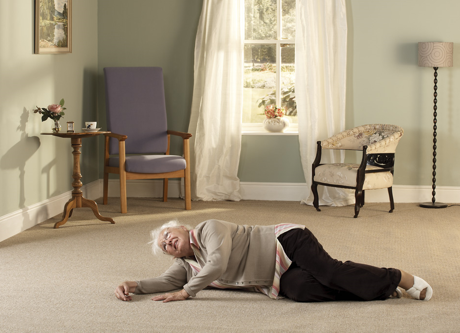 Care home fall